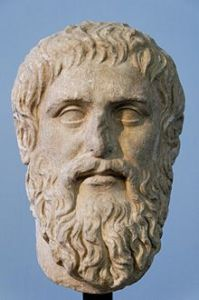 Plato was into inventio, too.  He viewed this first canon of rhetoric as a distinguishing feature that separated serious rhetoric from the foolishness of sophistry.